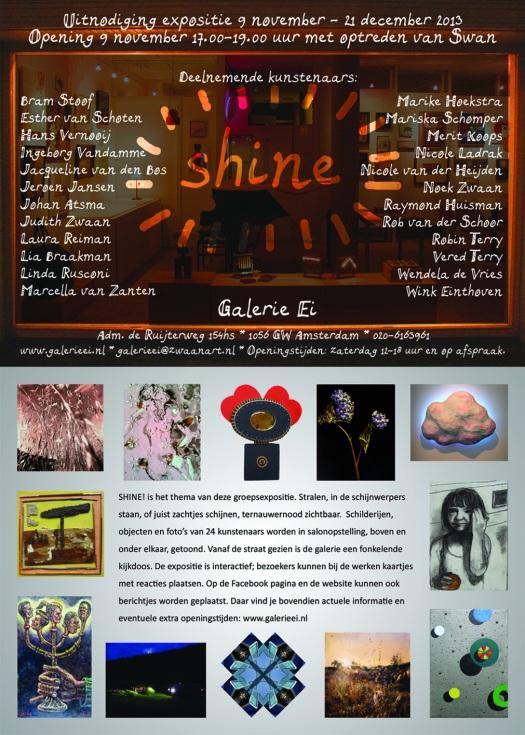 Uitnodiging Shine