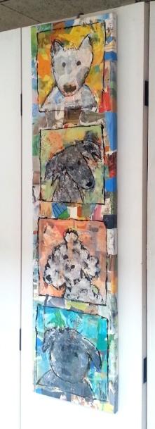 Top Dog, 25 x 100 cm, €250